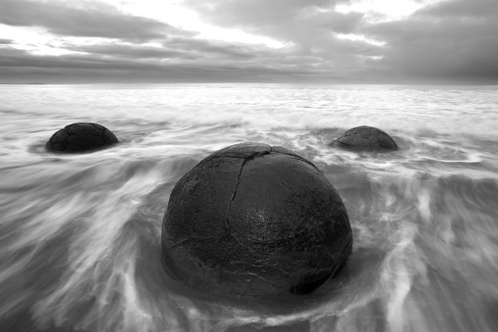 Moeraki Boulders at dawn
