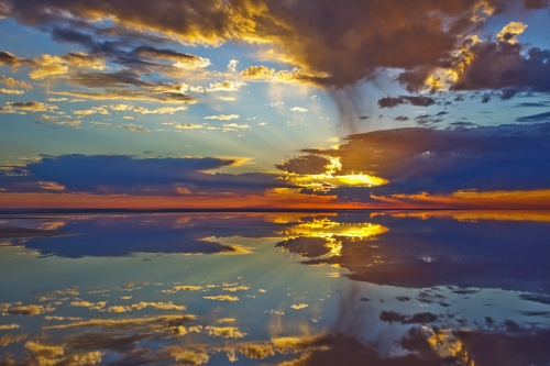 Flooded Lake Eyre
