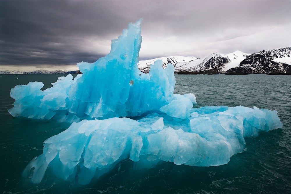 Blue drift ice